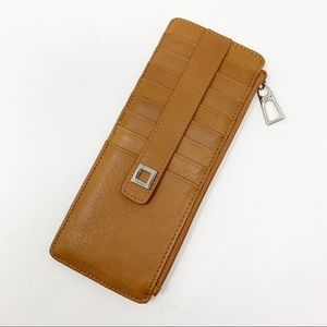 Lodis Audrey credit card wallet with zipper